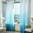 Tulle Curtains 3d Printed Kitchen Decor Window Treatments Living Room Divider Sheer Voile curtain