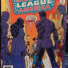 """JUSTICE LEAGUE AMERICA"""" #198 JAN 1983 - DC COMICS * SHOWDOWN"