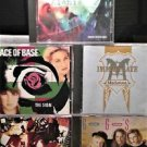 5 CD's, Roxette, The go go's, Ace of Base, Madonna ,Alanis morissette