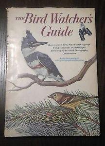 The Bird Watcher's Guide - Golden Press hardcover book
