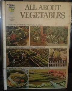 Chevron Ortho 1973 All About Vegetables Mid West North East US Edition gardening