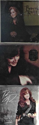 """2 CD's BONNIE RAITT: """"Nick of Time"""", Longing in their hearts, Luck of the Draw"""