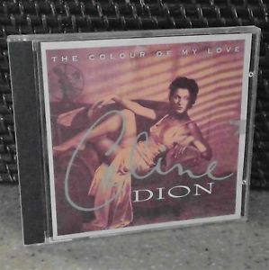 2 CD's Celion Dion-The Colour of my Love & All The way