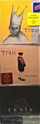 3 CD's: Train, I am - My Private Nation, Train, Drops of Jupiter