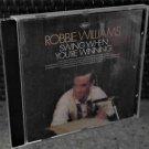 2 CD's,  Robbie Williams: Swing when you're winning, Sing when you're winning