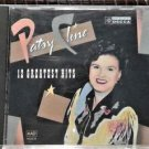 2 CD's Patsy Cline : 12 Greatest Hits CD,Country Spotlight Patsy Cline