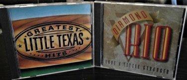 MIx Country:Little Texas, Diamond Rio  2-CD's
