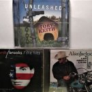 3 - CD Mix Country: Alan Jackson, Garth Brooks, Toby Keith
