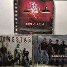 3-CD's, Lonestar: Coming Home, Lonely grill, Mountain CD's