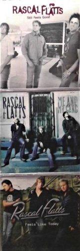 3 CD's  Rascal Flatts: Still Feels Good, Me and My Gang, Feels like today