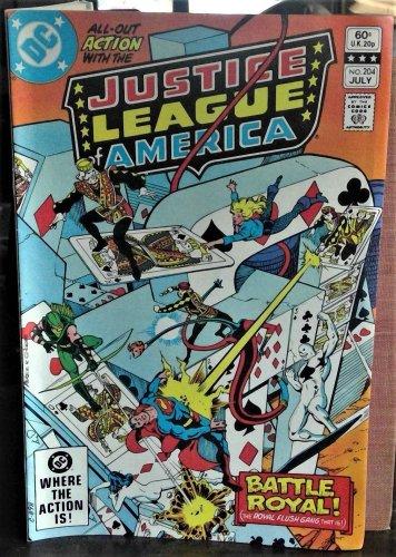 Justice League of America #204 (Jul 1982, DC)