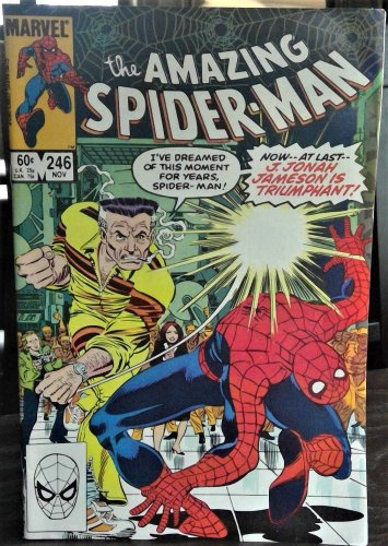 the Amazing Spider-Man Comic Book #246, Marvel 1983 NEAR MINT