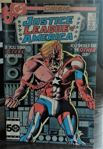 Justice League of America #245 Comic Dec 85