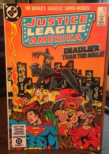 Justice League of America #221 Vol 24 Dec. 1983