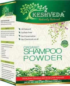 ORGANIC SHAMPOO POWEDER ALL NATURAL INGREDIENTS SULFATE FREE NO CHEMICAL