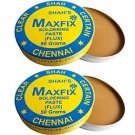 MAXFIX ROSIN SOLDERING PASTE (FLUX) -Pack of 2- 50g FOR ELECTRIC AND ELECTRONIC