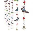 Rajasthani haat Handcrafted Peacock Door Hanging Home Decor- Set of 4 Free Ship