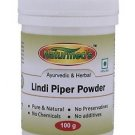 LINDI PIPER LONGUM (PIPALI) POWDER -100 GRMS JAR PURE, 100% PURE AND NATURAL