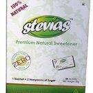 STEVIAS 100 Sachets 100% Vegetarian 1 gm stevias powder calorie free sugar