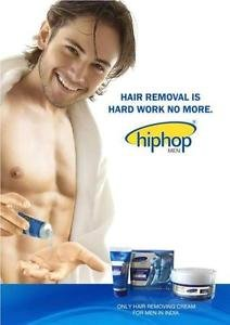 HipHop Hair Removing Cream for Men For a Clear Look ( Chest-Back-Arms-Legs )
