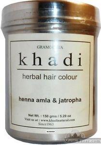 Khadi Natural Hair Colour Henna Amla & Jatropha (150g)improves tensile strength