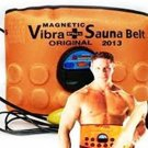 Original ABslimming 3 in 1 Magnetic Vibration plus Sauna Slimming Belt Free Ship