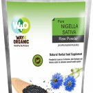 Way 4 Organic Nigella Sativa Raw Powder - 100g-100% Natural and safe herbal food