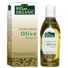 Indus Valley Bio Organic Extra Cold Virgin Olive Massage Oil 100 Ml-Body Massage