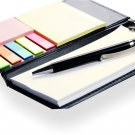 Memo Note Pad / Memo Note Book With Sticky Notes & Clip Holder In Diary Style