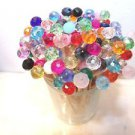 75 Crystal Mix Toothpick Wedding Supplies Dinner Party Food Martini Pick Skewer