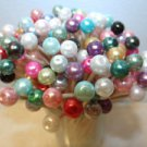75 Pearl Mix Toothpicks Wedding Shower Dinner Party Pick Gift Catering Skewer