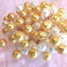 35 Gold White Pearls Toothpicks Wedding Shower Dinner Party Food Picks Appetizer
