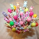 Eggs Beads Easter Toothpick Dinner Party Picks Shabby Table Cupcakes