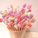 Teddy Bears Toothpicks Animal Kids Party Food Appetizer Picks Cupcakes Pink Red