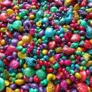 50 Mini Dyed Seashells Mix Umbonium Phyrus Lttorina Persica Shells Crafts Lot