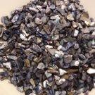 6oz Black Gray Abalone Crushed Seashells Crafts Vase Filler Aquarium Shells