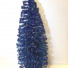 7in. Royal Blue Patriotic Tree Bottle Brush July 4th Independence Day Glitter