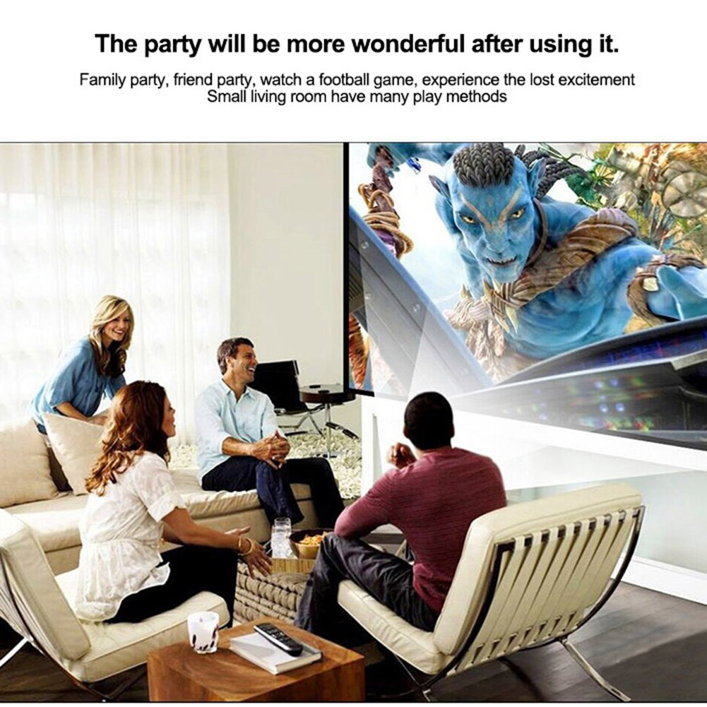 Mini Home LED Multimedia Video Projector