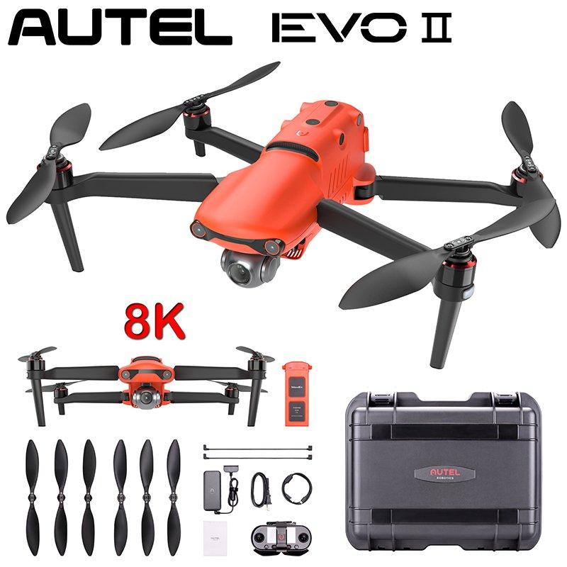 RC Drone Quadcopter EVO 2 Series PRO Dual GPS 9KM w/ 8K 48MP/ 6K HD Cam 40m Flight EVO II PRO Combo