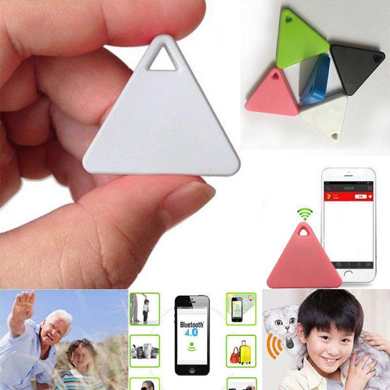 Portable GPS Mini Tag Smart Tracker Bluetooth Wallet Key Finder Locator Alarm