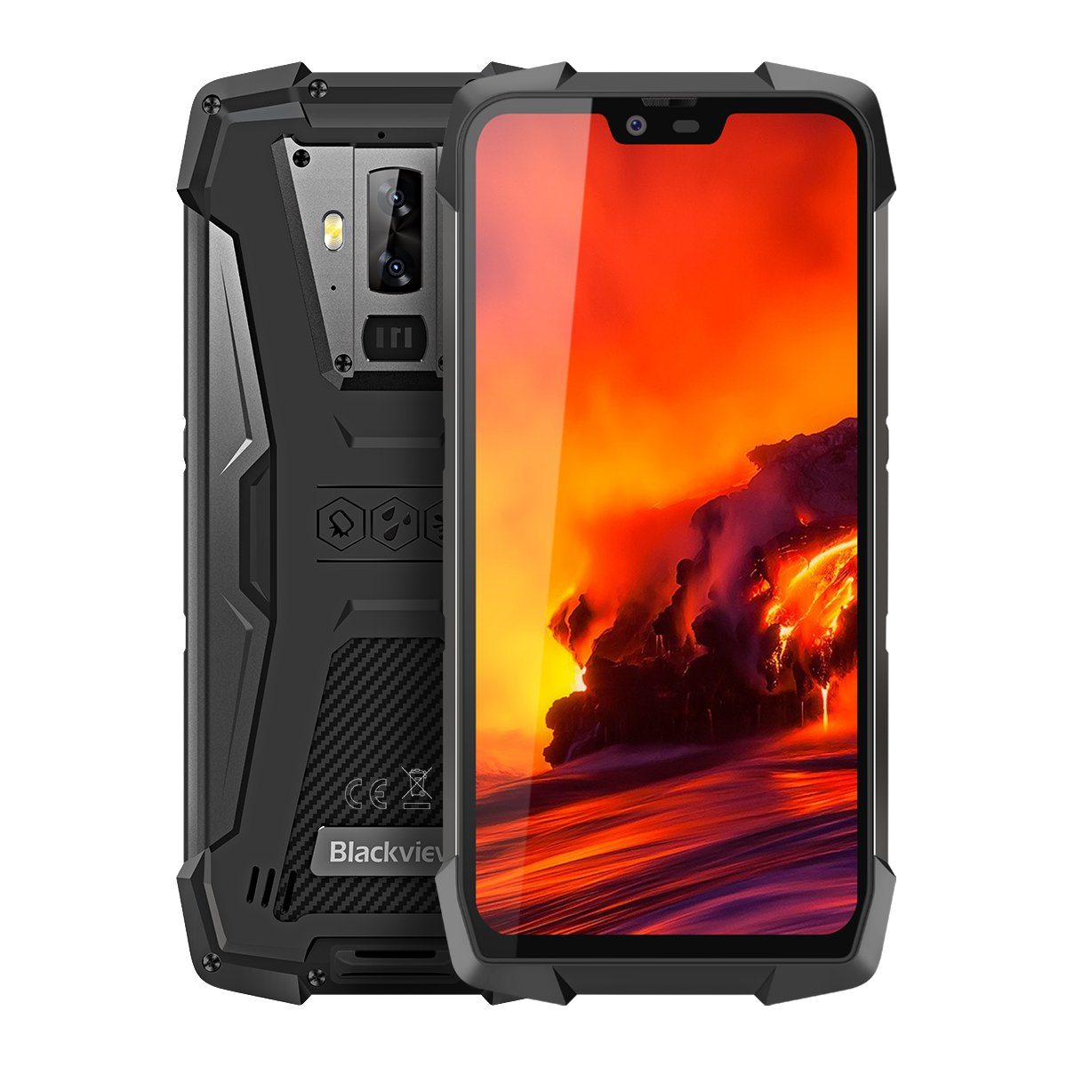 5.84-inch Blackview BV9700 Pro Waterproof IP68 Outdoor Smartphone w/ Night Vision