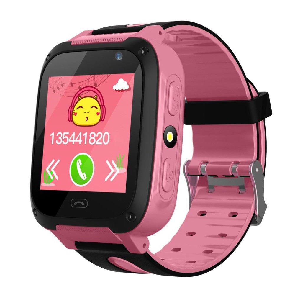 Anti-lost Kids Safe SmartWatch Phone (pink)