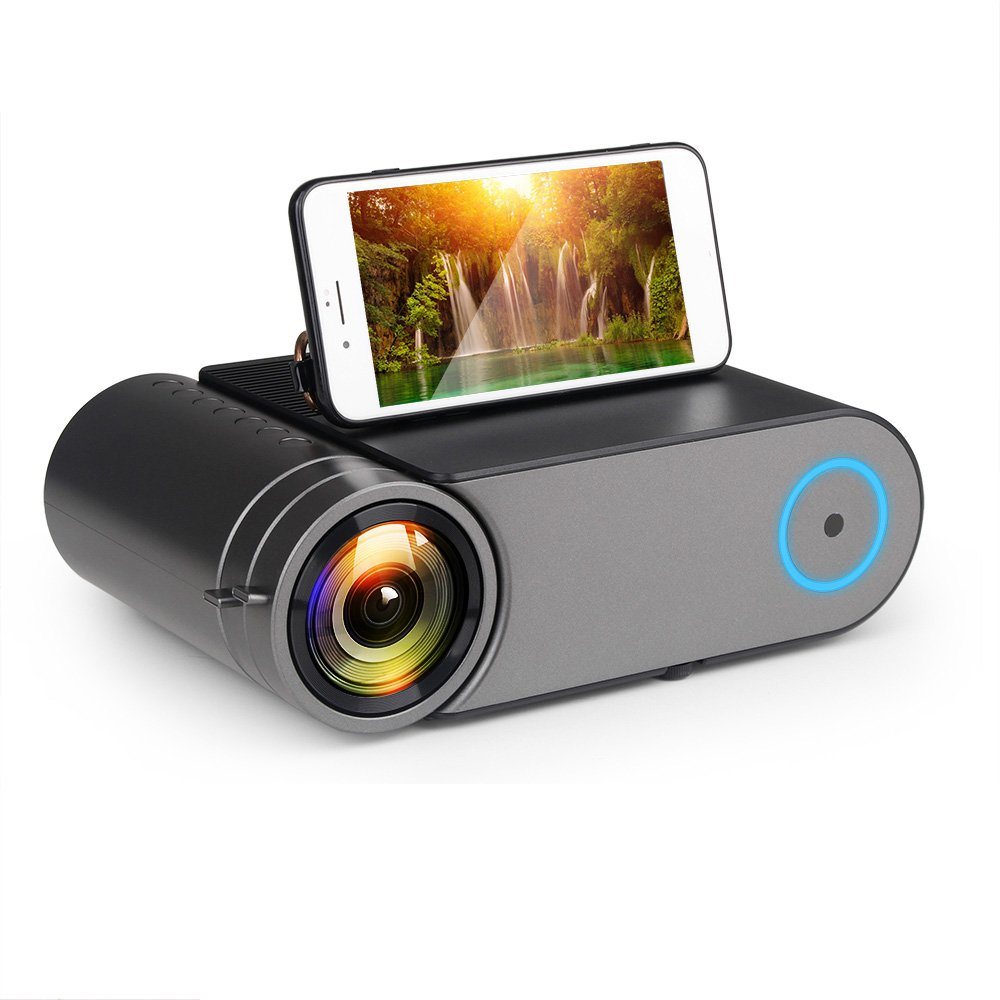 YG550 Photographic 720P Home Projector (Black)