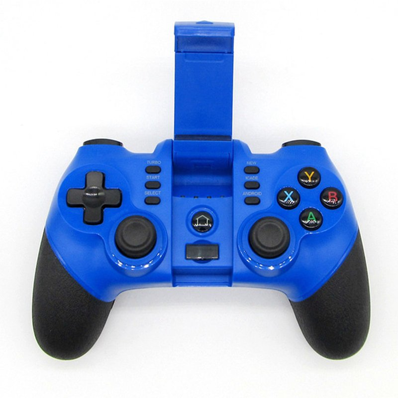X6 Wireless Bluetooth Gamepad Joystick Controller (Blue)