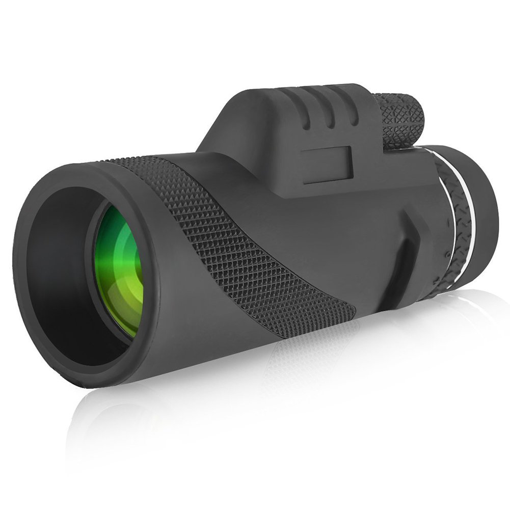 Military Monocular Handheld Telescope for Hunting or Mobile Night Vision Objective Optics 10x42