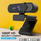 HXSJ 1080P HD Webcam with Mic Fast Autofocus Web Camera with Protective Cover