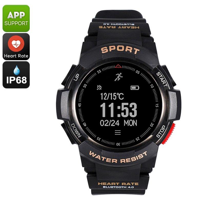 No.1 F6 Bluetooth Smartwatch (Black)