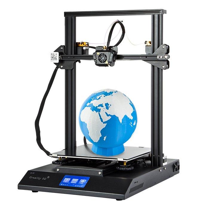 CREALITY CR-X 3D Printer; Dual-color, Touch Screen Dual Fan Cooling DIY KIT (black)