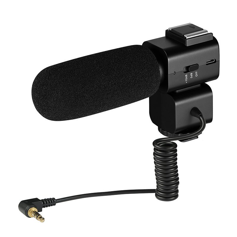 Ordro CM520 Microphone- for use with the Ordro HDV-DV7 Plus Digital Video Camcorder