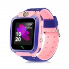 Waterproof GPS Tracker Kid's Smart Watch Android or iOS (pink)